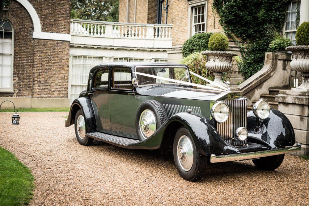 Fotografie eines Rolls-Royce